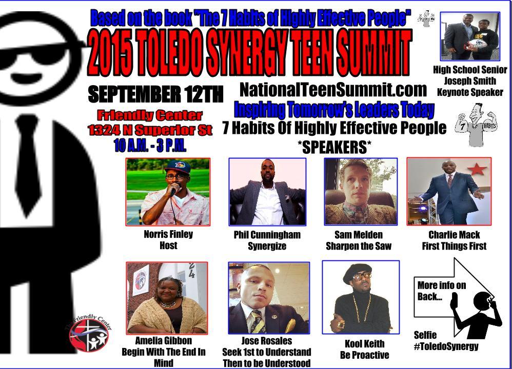 2015 Teen Summit final flyer